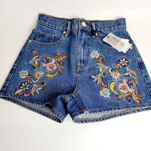 Juicy Couture Embroidered Shorts